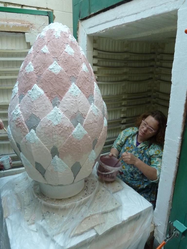 Glazes And Glazing Kate Malone Ceramics Amp Glaze