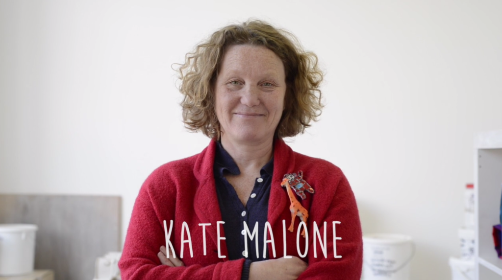 Kate Malone on Lightbulb episode by Stephenson / Bishop