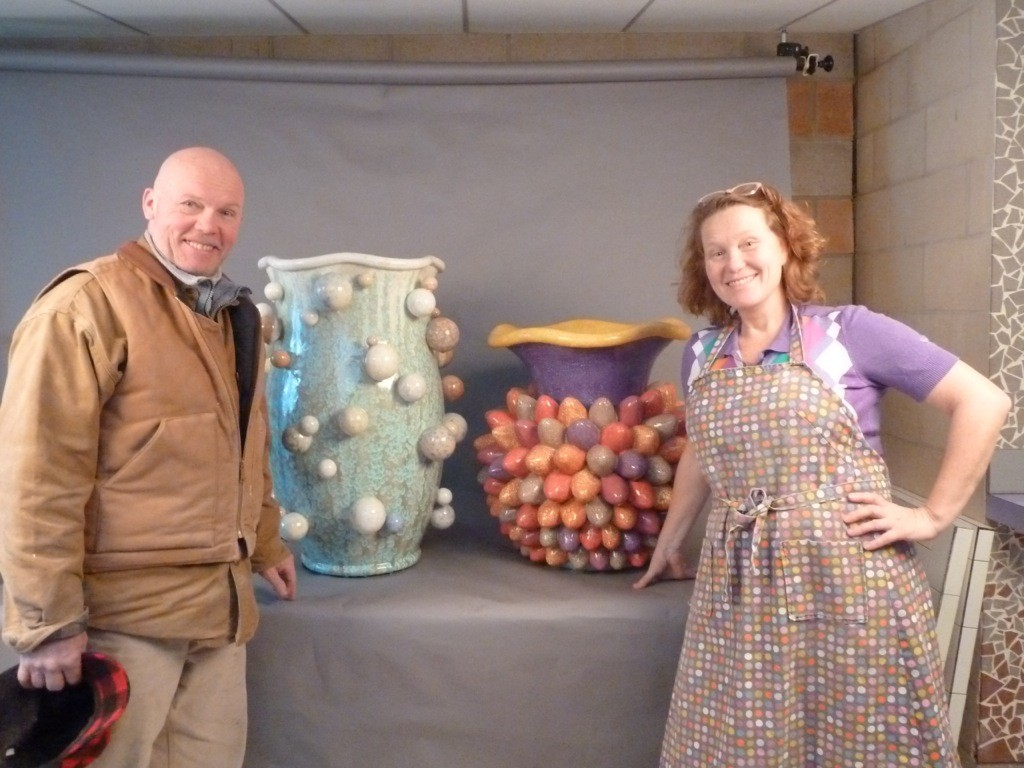Kate and Graham - finished Mr and Mrs Tutti Frutti