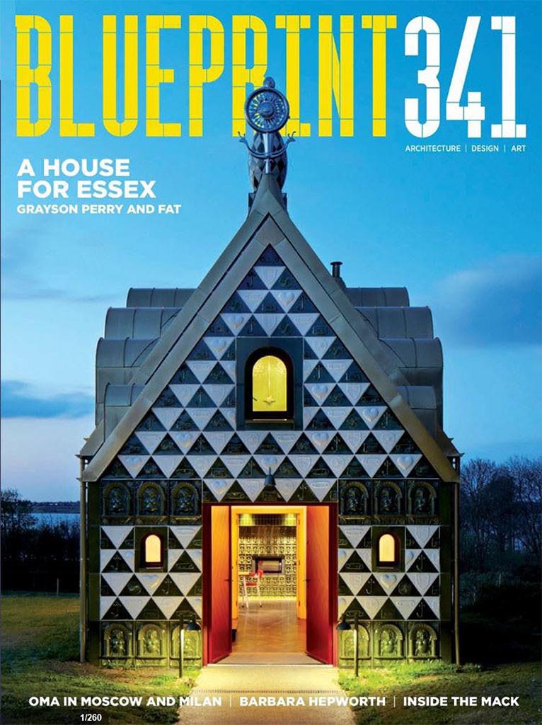 Blueprint Issue 341 Jul15 Savile Row glazed tiles building London
