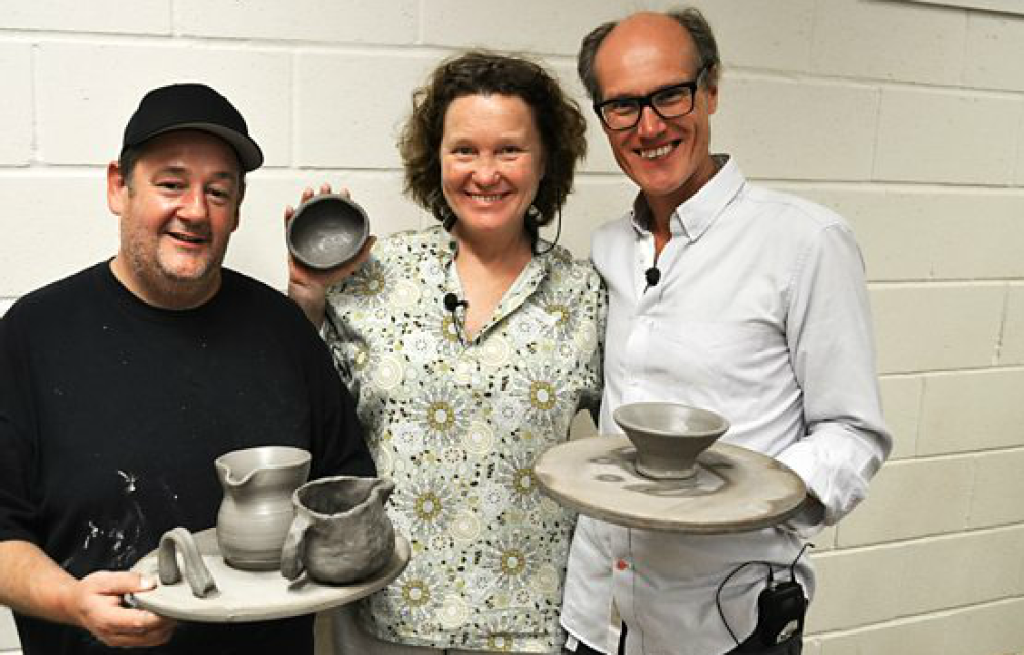BBC4 podcast Will Gompertz, Johnny Vegas and Kate Malone